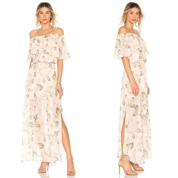 e175a819a4ef bobi Dresses   Hp Black Off Shoulder Boho Floral Dress   Poshmark